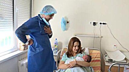 МАЛЪК ГОЛЯМ МЪЖ: Бебе с тегло 5,320 кг изплака в столична болница