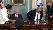 USA: US and Israel sign record $38bn military aid deal in DC