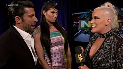 Franky Monet promises to rebuild The Robert Stone Brand in her image: WWE NXT, August 3, 2021