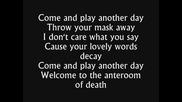 Tarja Turunen - Anteroom Of Death (feat Van Canto) + text
