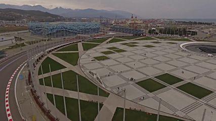 Russia: Exclusive drone footage shows Formula 1 Grand Prix track in Sochi
