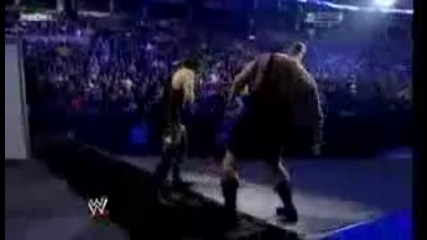 Survivor Series 2008 Undertaker vs Big Show Casket Match part 33