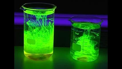 V 115 fluorescence of various materials 1 - Fluoreszenz