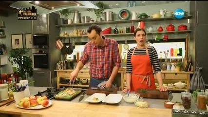 Пилешко с пролетни зеленчуци - Бон апети (14.03.2016)