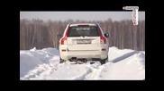 Тест на сняг - Volvo Xc90 vs Bmw X5