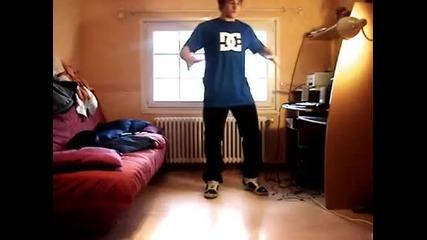 insane dubstep dancer