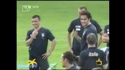Полуголи фенки нападат италианските футболисти-Господари на ефира 13.06.08 *HQ*