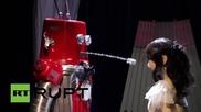 Първата сватба между роботи в Япония