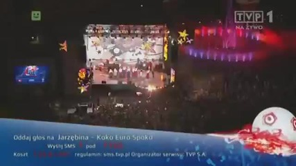 Jarzebina - Koko Euro Spoko (официалната песен на Полша за Евро 2012)