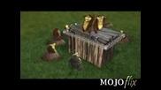 Анимация - Пеещи Къртици