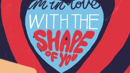 Ed Sheeran - Shape Of You ( Lyric Video )