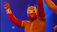 Sin Cara се завръща в Smackdown vs Heath Slater 6/1/2012