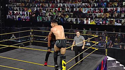 "Jake Atlas vs. Ashante ""Thee"" Adonis: WWE 205, April 16, 2021"