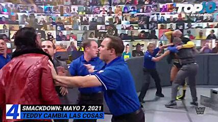 Top 10 Mejores Momentos de SMACKDOWN: WWE Top 10, May 7, 2021