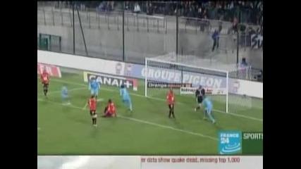 """""""Марсилия"""" с важна победа с 2:0 при гостуването на """"Рен"""""""