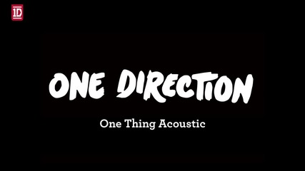 One Direction - One Thing Acapela
