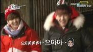 (exo showtime cut) Tao & Sehun Explores Ghost House ll Еп. 10