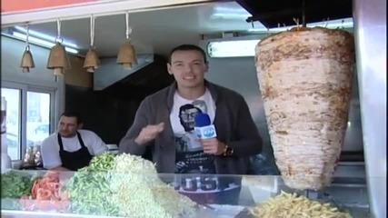 Лудия репортер - Какво закусвате, водка или бира?