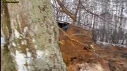 Jeep Wrangler vs голямата кал