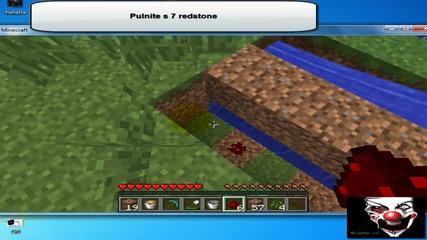 Как се прави obsidian generator в Minecraft