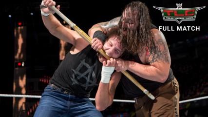Dean Ambrose vs. Bray Wyatt - TLC Match: WWE TLCS 2014 (Full Match - WWE Network Exclusive)