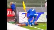 Киево  -  Левски 0:1  -  Телкийски