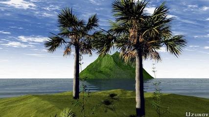 Остров - 3d Анимация