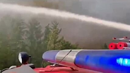 Russia: Firefighters extinguish 15 wildfires a day in Yakutia