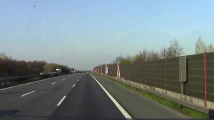 Доста трафик по А2 посока Хановер