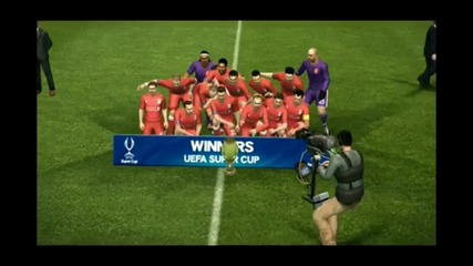Become a Legend || Pes 2012|| Liverpool Champion Super Cup!