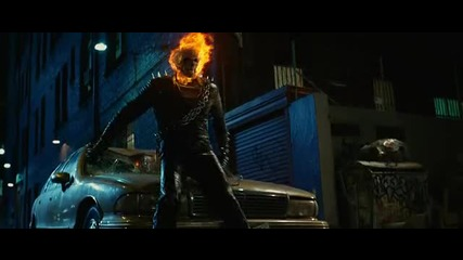 Много мощна сцена от филма Призрачен ездач. Ghost Rider Extended. Cut 2007 Video [ H D ]