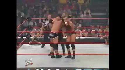 Kane Vs Goldberg Vs Triple H Armageddon 2003