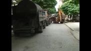 Пролетно запълване на дупки в София