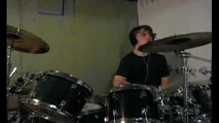 Gun In Hand - Stutterfly Drumming Video
