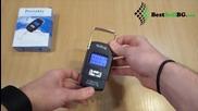 Електронен (дигитален) ръчен кантар до 50кг за измерване на багаж, риба, покупки, дрехи, риболовен