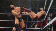 Drew McIntyre sends Finn Bálor flying across the ring with belly-to-belly throw: WWE TLC 2018 (WWE Network Exclusive)