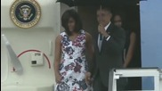 Cuba: Obama arrives in Havana on the first US President visit since 1928