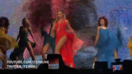 Beyonce - Standing On the Sun ( Live at Mrs Carter Tour)