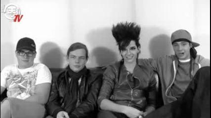 Tokio Hotel teaches German - Cosmogirl interview