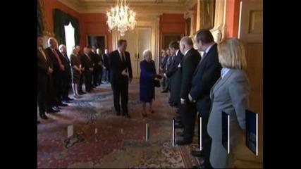 Кралица Елизабет Втора взе първото си участие в заседание на британския кабинет