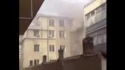 Пожарът В Сградата На Хеи Бургас