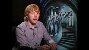 Rupert Grint - интервю Harry Potter and the Half - Blood Prince - част 1