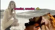 Taylor Swift - Crazier [karaoke/instrumental]