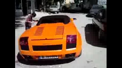 Lamborghini Galardo във Варна