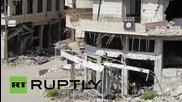 Syria: Assad's forces retake ruined Zabadani