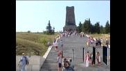 Хиляди се преклониха пред подвига на героите на връх Шипка