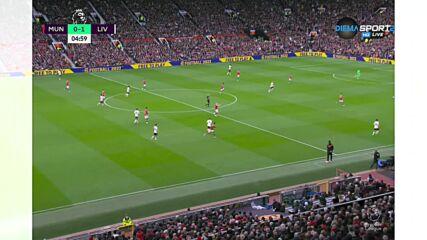 Ливърпул изненада Ман Юнайтед в самото начало