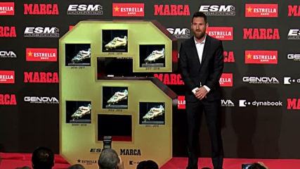 Spain: Messi wins sixth European Golden Boot