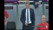 Евро 2012 : Франция 0 - 1 Англия ( Джолиън Лескът бележи с глава във 30' минута ) 11.06.2012
