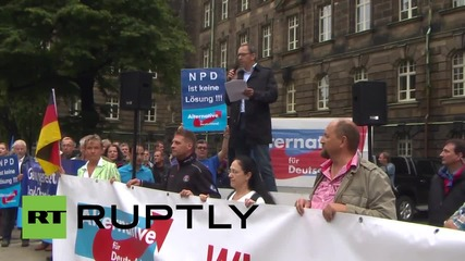 Germany: Dresden's Antifa face off with AfD supporters over immigration